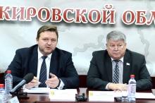 Н.Ю.Белых представил членам Совета ОЗС предложения по формированию новой структуры органов исполнительной власти и составу Правительства