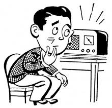 График передач и текст информационного сообщения