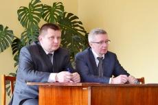 22 апреля Унинский район с рабочим визитом посетил Член Совета Федерации  О.А. Казаковцев