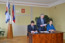 Состоялось вступление в должность главы Унинского района А.В.Шаклеина