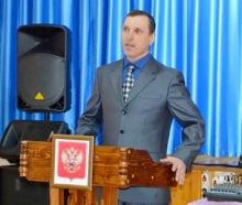Вступление в должность главы Елганского сельского поселения Николая Васильевича Машковцева