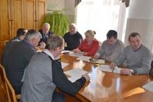 Рабочее совещание с главами поселений Унинского района