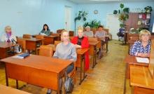 С заседания общественного совета Унинского района