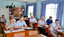 Глава района А.В. Шаклеин  провел рабочее совещание с главами поселений