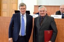 Василий Аркадьевич Чучкалов удостоен высокой правительственной награды