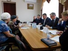 Владимир Климов посетил с рабочим визитом Зуевский район