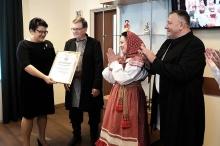 Ансамбль «Слобода» получил сертификат федерального гранта в размере 2 млн рублей