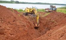 Начались работы по ремонту гидроузла Заякинского водохранилища