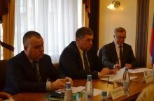 На что жалуются жители областного центра? Владимир Климов провел прием граждан