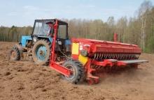 В сельскохозяйственных предприятиях района продолжаются посевные работы