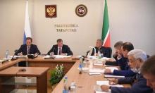 Игорь Комаров принял участие в совещании с вице-премьером России Маратом Хуснуллиным