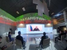 Полпред Президента РФ в ПФО Игорь Комаров принял участие в пленарном заседании «100% Татарстан»