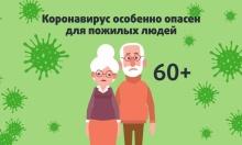 Рекомендации по снижению рисков заболевания новой коронавирусной инфекцией для людей старше 60 лет
