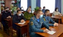 Обеспечение безопасности в период новогодних праздников обсудили на антитеррористической комиссии