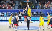 Квалификационный матч чемпионата Европы по баскетболу