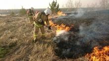 Начался сезон горящей травы