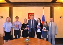 Сегодня в Кирове вручены паспорта юным гражданам
