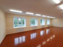 Капитально отремонтирован спортзал  в средней школе села Порез
