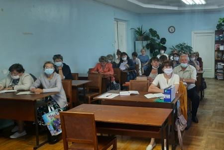 Прошло совещание председателей и секретарей участковых избирательных комиссий Унинского района