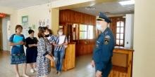 На избирательных участках района  прошли внеплановые инспекционные визиты