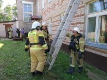 Пожарно-тактические учения прошли в больнице Унинского района