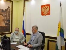 Жители Оричевского района задали вопросы Григорию Житеневу  в режиме видеоконференцсвязи