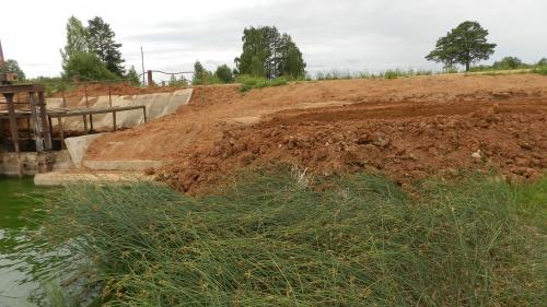 Строительство пирса в с. Сардык