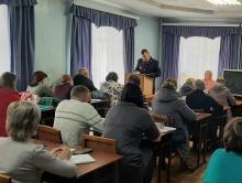 ТИК провела семинар с председателями и секретарями участковых избирательных комиссий
