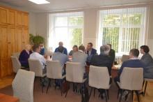 10 сентября состоялось совещание с главами поселений Унинского района.
