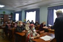 Состоялось собрание  районного общества инвалидов.