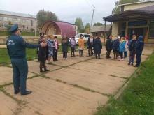 Прошла плановая тренировка по эвакуации персонала и детей в МБОУ ДО «детская школа искусств»