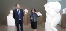 Игорь Комаров посетил Мордовский республиканский музей изобразительных искусств имени С.Д.Эрьзи