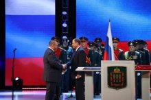 Полпред Президента РФ в ПФО Игорь Комаров поздравил Олега Мельниченко с официальным вступлением в должность губернатора Пензенской области
