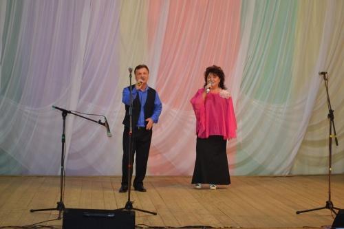 Праздничный концерт, посвященный дню пожилых людей.