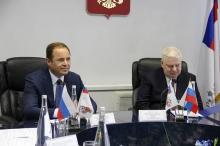 Игорь Комаров поздравил сотрудников Росрезерва с 90-летием системы